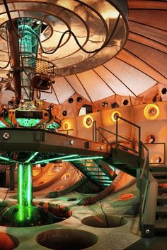 My favourite TARDIS interior. Its so colourful that I thought it matched 11's childish personality perfectly.