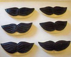 Mustache Sugar Cookies