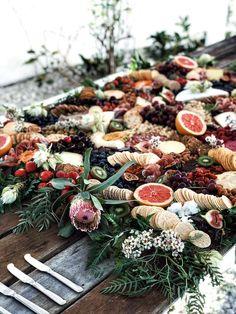 18 Grazing Table Ideas for a Gorgeous Spread Bufette Ideas, Food Ideas, Party Ideas, Event Ideas, Game Ideas, Antipasto, Brunch, Buffets, Fall Wedding Menu