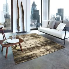 Samoa 162 007 Beige Abstract Rug By Golze Modern Contemporary, Modern Design, Shag Rug, Old Things, Colours, Beige, Flooring, Rugs, Abstract