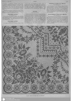 Scheme beautiful large tablecloth with flowers Crochet Stitches Chart, Filet Crochet Charts, Crochet Stitches Patterns, Stitch Patterns, Cross Stitch Pillow, Cross Stitch Borders, Cross Stitch Flowers, Cross Stitch Embroidery, Crochet Fall