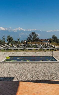 The meditation maze at Dwarika's Resort Dhulikhel is designed according to Buddhist principles to help you find enlightenment amidst the mighty Himalayas. #Indistay | Kathmandu, Nepal