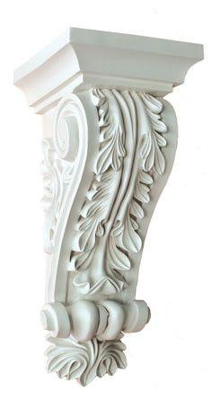 "12-1/8""H X5-1/8""W X5-5/16""Proj - Webster Medium Decorative Corbels | Corbel Place"
