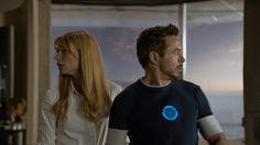 Tony Stark & Pepper Potts  #TonyStark  #PepperPotts  #IronMan3  #IronMan  #Kamisco