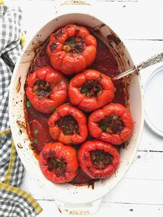 Whole30 Stuffed Peppers | Inspiration for Everyday Food Made Marvelous