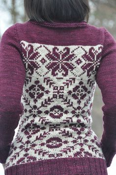 Fair Isle Cardigan ~ Inspiration for patterning Knitting Patterns, Crochet Patterns, Jumper Patterns, Diy Vetement, Fair Isle Pattern, Fair Isle Knitting, Yarn Crafts, Pulls, Knitting Projects