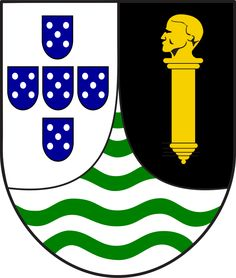 Lesser coat of arms of Portuguese Guinea - Portuguese Colonial War - Overseas Province of Guinea's coat of arms until 1974.