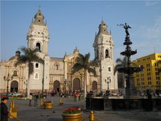 1535 – Spanish conquistador Francisco Pizarro founds Lima, the capital of Peru. | Famous Historic Buildings & Archaeological Sites in Peru – Machu ...