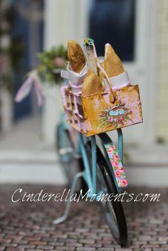 Miniature dollhouse bicycle |  San Diego Miniature Crafters | 41st Annual Miniature Show & Sale |Feb. 7 & 8, 2015 | Exhibits, Sales & Classes | www.sdminiatureshow.com