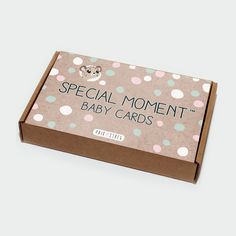 Special Moment Baby Cards by PRIK & STREG