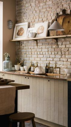 Our Potting Shed is a little different to a kitchen, it's more like a utility room or scullery or laundry room. It's hardworking and totally practical… – Laundry Room Shaker Kitchen, New Kitchen, Kitchen Dining, Kitchen Decor, Kitchen Ideas, Gally Kitchen, Stairs Kitchen, Plywood Kitchen, Long Kitchen
