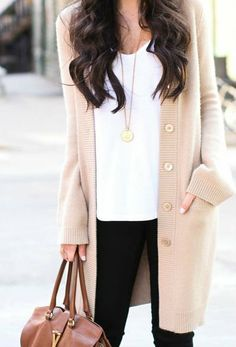 nice, oversized cardigan to pair with skinnies and either boot or heels.