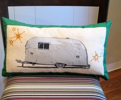Silver Airstream pillow by studiodesignlab  http://www.etsy.com/listing/76981196/silver-airstream-pillow-painted-and?ref=sr_gallery_10_search_query=airstream_view_type=gallery_ship_to=ZZ_min=0_max=0_ref=auto1_search_type=handmade#