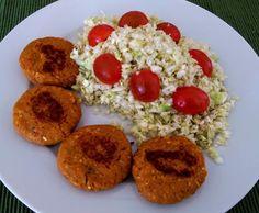 Rezept Linsenbratlinge (vegan) von doj - Rezept der Kategorie Hauptgerichte mit Gemüse