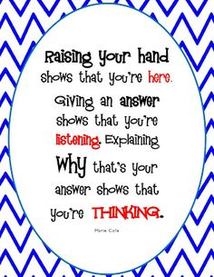 The Hands-On Teacher: A New Classroom Sign (FREEBIE) |Pinned from PinTo for…