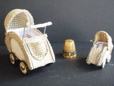 pram or baby carriage 1/12 and 1/24 workshop 2012 emily.art