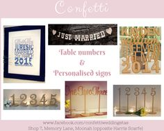 Toasting Flutes, Wedding Confetti, Wishing Well, Personalized Signs, Just Married, Table Numbers, Cake Toppers, Gallery Wall, Store