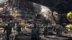 GorgeousGuardians of the Galaxyconcept art revealed