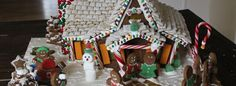 Epic gingerbread house