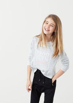 Camiseta algodón mensaje -  Niños | MANGO Kids España