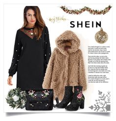 """#Shein 4/8"" by kristina779 ❤ liked on Polyvore featuring Improvements and Shishi"
