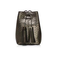 SMALL TASSEL BUCKET BAG - Tom Ford