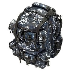 20 2400cu in Great Tactical Hunting Camping Hiking Backpack OP220 DMBK Digital Camouflage Navy Blue >>> This is an Amazon Affiliate link. See this great product.