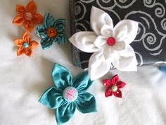 pinterest 365, day four: five petal fabric flowers from bete bazzi http://www.flickr.com/photos/14276795@N02/2346154718