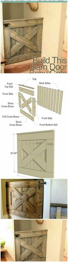 """Half Door, Baby Gate.  """"Pallet Projects"""""""