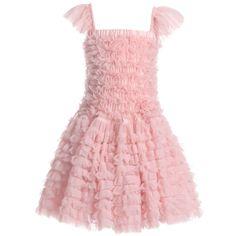 ANGEL'S FACE Pink Chiffon Frill Dress