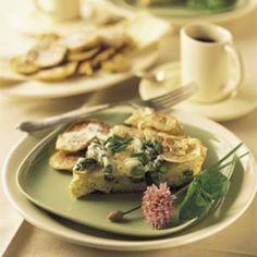 Asparagus and Potato Frittata