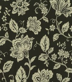Home Decor Print Fabric-Cottage Vine-Blackbird