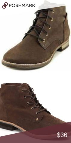 20cb0681ab Diba Eli Brown Nubuck Leather Booties SZ 8.5 ◾️Size 8.5M ◾️Details -cap