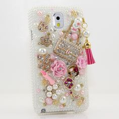 Style # 769 Bling Cases, Handmade 3D crystals gold skull design case for iphone 5, iphone 5s, iphone 6, Samsung Galaxy S4, S5, Note 2, Note 3, Note 4, LG, HTC, Sony – LuxAddiction.com