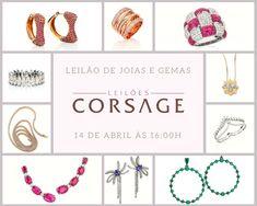 Mais de 220 joias novas e sem uso vão a leilão no dia 14 de abril na Leilões Corsage - Blog Leilões BR