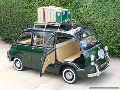 Fiat 600D Multipla Taxi MPV Classic / LHD / 1964 / 6K Miles / 3 Owners / Mint! | eBay