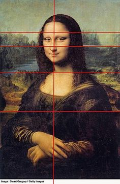 See what is meant by balance in composition in this analysis of the underlying structure of the famous Mona Lisa painting.