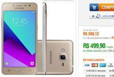 Samsung Galaxy J2 Prime TV SM-G532MT Quad Core 1.4Ghz  Android 6.0 8MP 8GB Tela 5 4G Dual Chip << R$ 49990 >>
