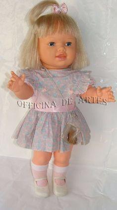 boneca antiga bolachinha biscoitinho estrela 80s original