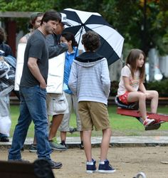 Keanu Filming August 6, 2016 Keanu on the set of Replica's in Puerto Rico