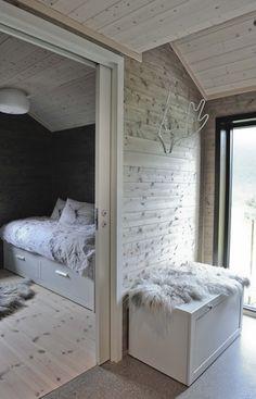 drewniany dom w stylu skandynawskim na weekend architektura