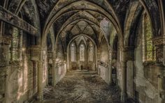I Search For Abandoned Buildings All Around Europe And Photograph Them | Bored Panda