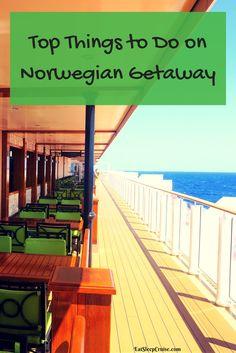 Top Things to Do on Norwegian Getaway