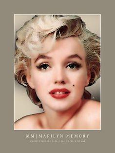'Marilyn Memory' von Dirk h. Wendt bei artflakes.com als Poster oder Kunstdruck $19.41