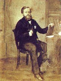 Pedro II do Brasil – Wikipédia, a enciclopédia livre Pedro II por volta dos 32 anos de idade, c. 1858. Na década de 1850, livros começaram a ser representados de maneira prominente em seus retratos, uma referência a seu papel como defensor da educação.
