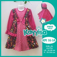 www.kayyisa.com 0811173720/ Pin 570AD077 Produsen dan Grosir Busana Muslim Anak berkualitas, bahan katun jepang di bandung Baju Muslim Anak Perempuan | Busana Muslim Anak Baju Gamis Anak | Baju Anak | Busana Muslim Anak | Model Baju Anak Perempuan Terbaru 2015 | Model Gamis Anak Terbaru | Busana Muslim Terbaru Baby Girl Party Dresses, Dresses Kids Girl, Kids Outfits, Dress Anak, Neckline Designs, Kids Frocks, Frock Design, Fairy Dress, Applique Dress