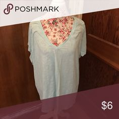🦋blue ava&viv t shirt🦋 EUC tshirt from target blue in color size 4 Ava & Viv Tops Tees - Short Sleeve