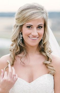 Half up half down wedding hair - Wedding Inspirations