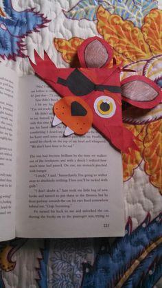 Fnaf foxy bookmark