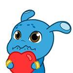 31 Funny alien rabbit emoj gifs Emoticon, Emoji, Aliens Funny, Smurfs, Rabbit, Fonts, Gifs, Chinese, Free